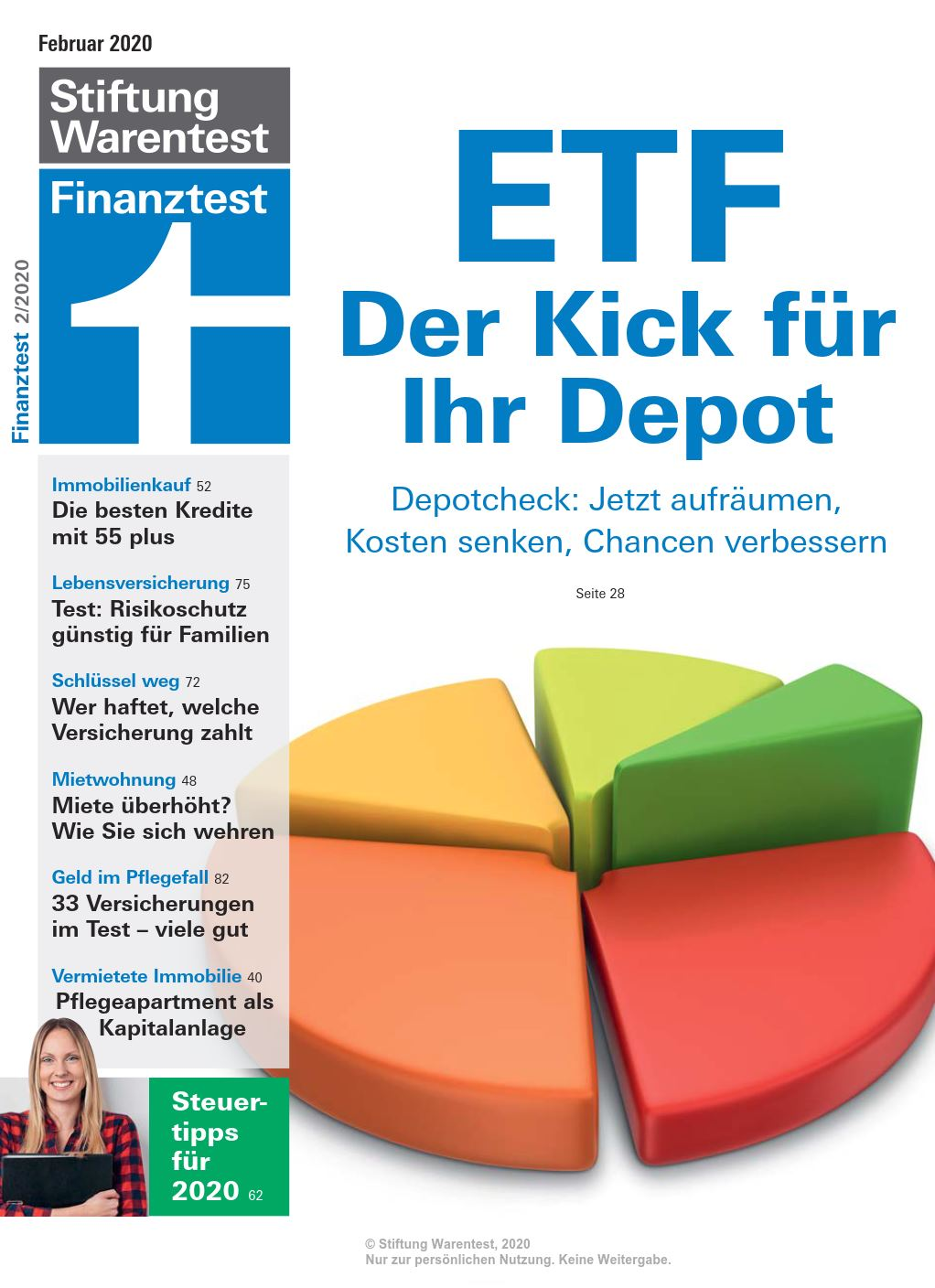 Cover Finanz­test Februar 2020
