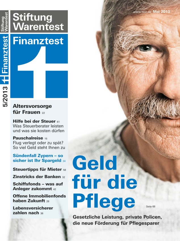 Cover Finanz­test Mai 2013